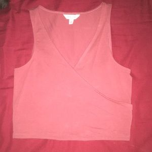 Small crop top  NEVER WORN no tags